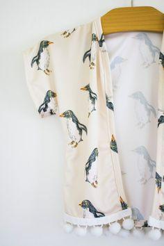 penguin kimono