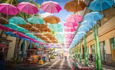 port louis allée des parapluies