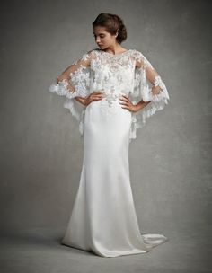Gorgeous Gowns with Stunning Back Detail from the 2015 Enzoani Collection #weddingdress #bridalwear #2015fashion
