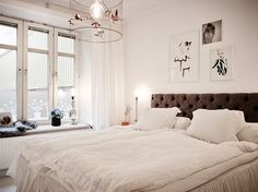 """In love with the airy, simplistic, and lovely decor in this """"Lovely Swedish Apartment Enhanced by Texture Diversity"""""""