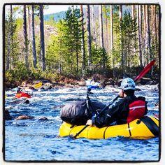 Swedish Packrafting Round-Up   @hikeventures and @urbanpackrafter rafting on the Voxnan river. #optoutside #ultralight #getoutside #rafting #adventure #hiking #backpacking #watersports #rafting #nature #outdoorgear #hyperlitemountaingear #skandinavien #scandinavia #nordic #travel #trip #river #voxnan @visitsweden by hikeventures