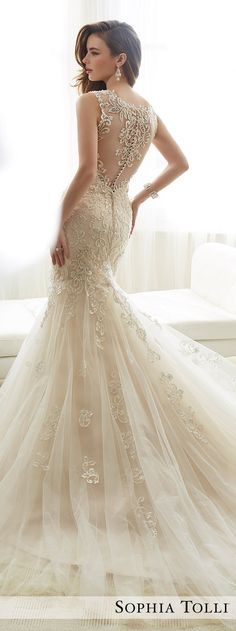 Wedding Dress by Sophia Tolli Spring 2017 Bridal Collection | Style No. » Y11722 Amie