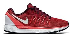 Nike Womens Air Zoom Odyssey 2 Shoes Noble RedWhite 601 Size 11 -- See this great product.(This is an Amazon affiliate link)