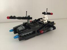 Star Wars First Order armed speeder LEGO MOC