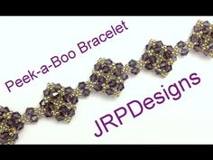 Two For One Bracelet- Intermediate to advanced tutorial  left hand - YouTube