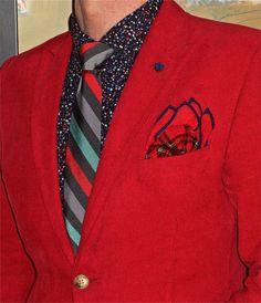 Bespoke corduroy suit, Cactus shirt, Penguin tie… #Bespoke #Cactus #Penguin #mensfashion #fashion #dandy #dapper #sartorial #sprezzatura #menshoes #mensweardaily #menstyle
