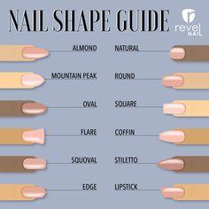 Choosing a Perfect Nail Shape! Choosing a Perfect Nail Shape! – Reve… Choosing a Perfect Nail Shape! Choosing a Perfect Nail Shape! – Reve…,Nageldesign Choosing a Perfect Nail Shape! Choosing a. French Tip Acrylic Nails, Purple Acrylic Nails, Remove Acrylic Nails, Clear Acrylic Nails, Acrylic Nails Coffin Short, Acrylic Nail Shapes, Square Acrylic Nails, Almond Acrylic Nails, Summer Acrylic Nails