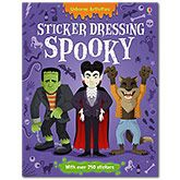 Usborne have triumphed again with this Spooky Sticker Dressing book.   Superb for keeping the children entertained over the half-term holidays.