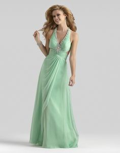 Wishesbridal Formal Mint Halter Floor Length Princess Lace Up Corset Evening Dress Ccl0047