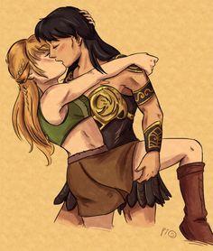 Lesbian amazon warriors
