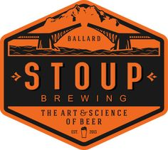 BALLARD— It's official. Stoup Brewing in Ballard passed inspection and will open to the public on Wednesday, October 23 at 4 pm. Tap room hours are: Wed-Thurs, 4 to 8 pm; Friday, 4 to 9 pm; Seattle Breweries, Brewery Logos, Oregon Vacation, Tap Room, Distillery, Vintage Halloween, Craft Beer, Brewing, Tours