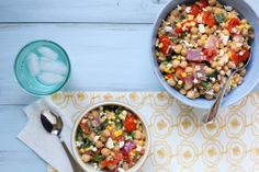 According to tradition, Jews are supposed to eat three meals during the course of Shabbat (Sabbath) – one on Friday and two on Saturday. Chickpea salad with sun-dried tomatoes is a simple (and tasty) option for an easy Shabbat meal. Have you tried this recipe?