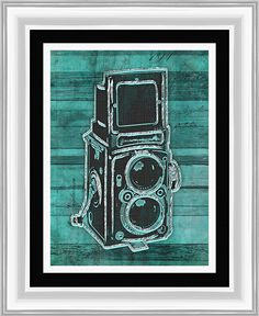 Roloflex Giclee Framed Graphic Art
