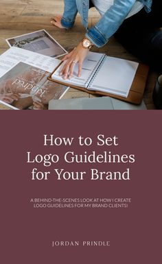 How to Set Logo Guidelines for Your Brand — Jordan Prindle Designs Successful Business Tips, Creative Business, Logo Guidelines, Website Footer, Design Theory, Design Movements, Logo Color, Create A Logo, Social Media Graphics