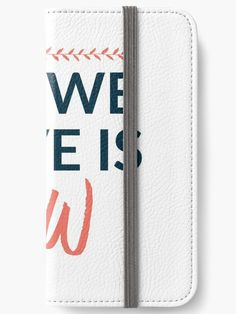 All We Have Is Now - iPhone Wallets - Wallets, Cases & Skins. Order now!  #quotes #motivation #redbubble #inspiration #life #sales