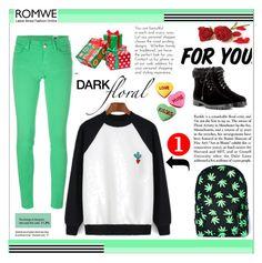 """Romwe"" by idana1 ❤ liked on Polyvore featuring M Missoni, Aquazzura, Garance Doré, Comeco and romwe"