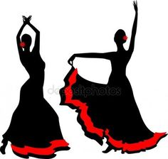 Dancing Drawings, Art Drawings, Flamenco Dancers, Shadow Art, Foto Art, Silhouette Vector, Mandala Design, Fabric Painting, Indian Art