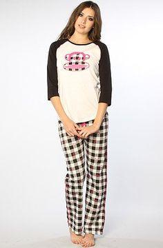 Paul Frank Women's Just Julius Check Pajama Set « Clothing Impulse
