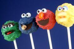 Sesame Street cakepops :)