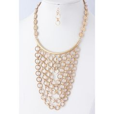 Renart Drape Necklace in Gold #jewelry & #giveaway