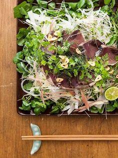 【レシピ】ハーブたっぷり!鰹のたたき : 銀座カーヴ・フジキ