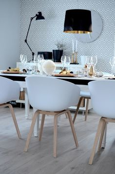 Gorgeous Scandinavian table setting