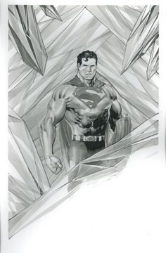 Superman Commission by Philip Tan Comic Art