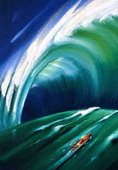 Close Out - Surf Art: John Severson art of surfing. Surf Paintings, Surf Art...