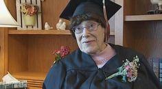 103-летняя американка получила диплом средней школы - http://russiatoday.eu/103-letnyaya-amerikanka-poluchila-diplom-srednej-shkoly/ Жительница штата Висконсин 103-летняя Мари Хант окончила обучение в средней школе и получила соответствующий диплом . #Диплом, #Учения, #Я
