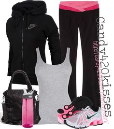 """I work out.. :)"" by candy420kisses on Polyvore"