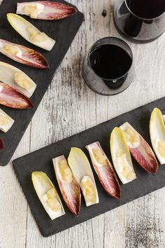 Ginger Pear and Goat Cheese Endives | Naturally Ella
