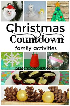 Make each day special before Christmas with baking, making crafts, and more! Plan a family event for each day of December with this roundup of fun activities. #christmascraftsforkids