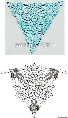.Triangle crochet More