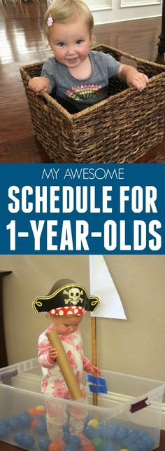 My Perfect Schedule for 1-Year-Olds #toddler #parenting