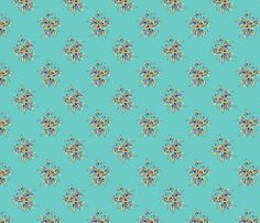 Farmhouse Roses Bessie fabric by art_is_us on Spoonflower - custom fabric