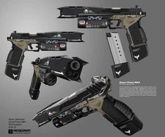The Reference Image, courtesy of Respawn Entertainment - Imgur Sci Fi Weapons, Weapon Concept Art, Fantasy Weapons, Weapons Guns, Guns And Ammo, Cold Heart, Academia Hero, Future Weapons, Military Weapons