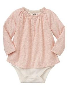Floral body double - baby Gap