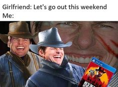 "16 'Red Dead Redemption Memes For The Gamers - Funny memes that ""GET IT"" and want you to too. Get the latest funniest memes and keep up what is going on in the meme-o-sphere. Wild West Games, Playstation, Xbox, Image Gag, Red Dead Redemption 1, Read Dead, Videos Fun, Rdr 2, Dead Memes"
