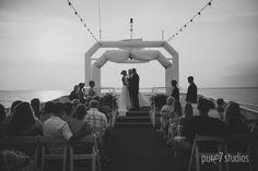 The SOLARIS sky deck for their wedding out at sea....
