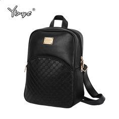 Vintage náhodný nový styl kožené školní tašky vysoce kvalitní hotsale ženy  candy spojka ofertas slavný designer značky batoh 1b96130436