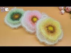 [코바늘뜨개crochet] 아젤리아 평면 수세미뜨기 Crochet Dish Scrubby - YouTube Baby Socks, Knitting Socks, Knitting Patterns, Crochet Earrings, Christmas Tree, Candy, Flowers, Gifts, Korean