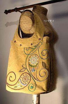 Сумка-мешок для похода в магазин :) | Flickr - Photo Sharing!