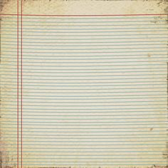 Free download Vintage Notebook Paper.