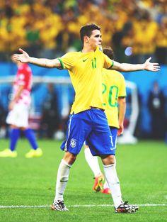 Oscar Dos Santos Emboaba Júnior #Fútbol #Brasil #11