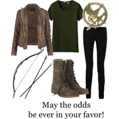 Katniss Everdeen. May the odds be ever in your favor