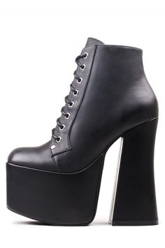 Jeffrey Campbell Shoes GOTHAM-2 Platforms in Black