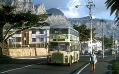 Camps Bay Main Road, Cape Town - remember those buses. Most Beautiful Cities, Beautiful World, Amazing Places, Local Attractions, Rest Of The World, East Africa, Africa Travel, Old Pictures, Cape Town