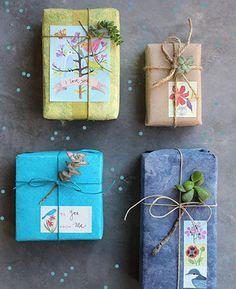 как красиво упаковать большой подарок