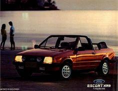 1985 Ford Escort XR-3 Cabriolet - Brazil