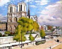 Albert Marquet - Paris, the Seine and Notre Dame